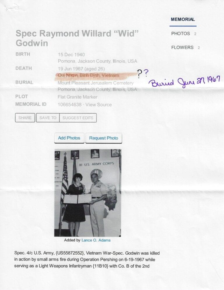Raymond Godwin B